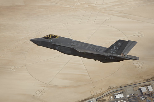 Second F-35A Production Jet Arrives at Edwards AFB