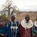 Masai Women in a Row - Lake Manyara, Tanzania