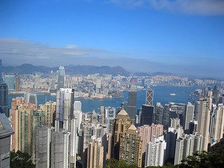 View of Hong Kong from Victoria Peak