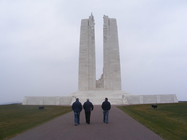 Vimy Ridge Canadian WW1 Memorial France: World War 1 Programme Somme France & Messines Belgium - Exploring Irelands role in the Great War