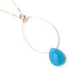 true blue necklace