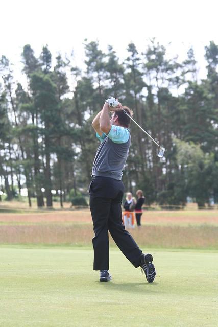 le golfeur anglais: Nick Faldo