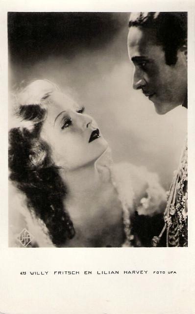 Willy Fritsch & Lilian Harvey