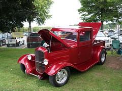 automobile, wheel, vehicle, truck, ford model b, model 18, & model 40, vintage car, land vehicle, motor vehicle,
