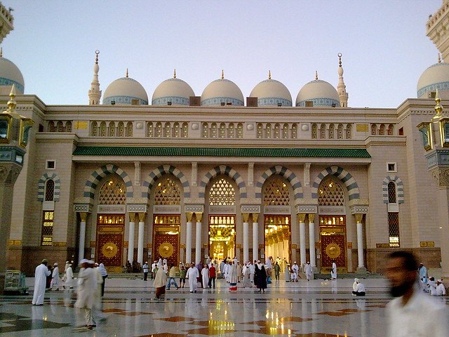 Map Masjid Nabawi http://www.flickr.com/photos/29070131@N02/2714014741/