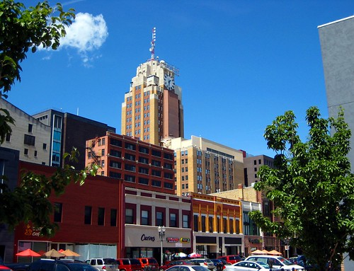 clock downtown cityscape michigan lansing washingtonsquare boji michigannationalbuilding bojitower