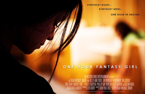 One Hour Fantasy Girl Official Movie Poster B
