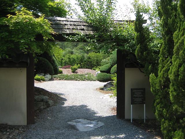 Flickriver photoset 39 norfolk botanical garden may 2008 for Japanese garden entrance