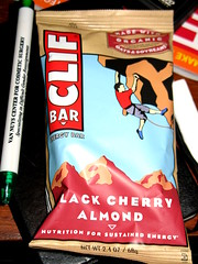 Black Cherry Almond Clif Bar