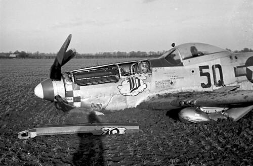 P51 Crashed f6.3 100th sec. superxx brite sun 1530 hours GMT 01