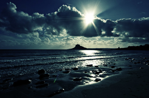 St Michael's mount, Marazion, Cornwall. Icarus returns
