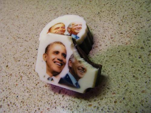 Obama/Biden chocolates