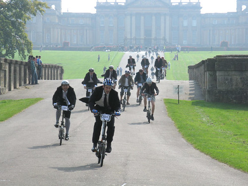 Brompton World Championship (BWC) at Blenheim Palace, Oxon, UK by Tim Branch