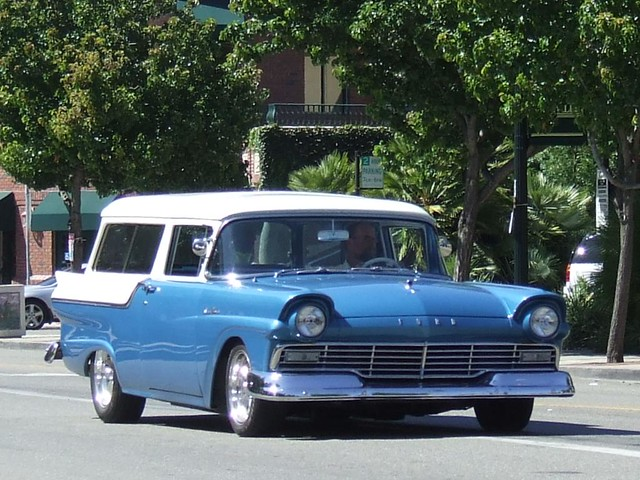 1957 ford 2 door ranch wagon custom 39 5pcb986 39 1 flickr for 1957 ford 2 door ranch wagon