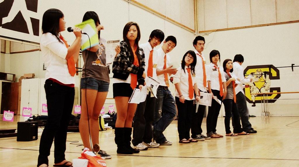 Canyon High School Key Club Board | 2008-2009 * First meetin… | Flickr