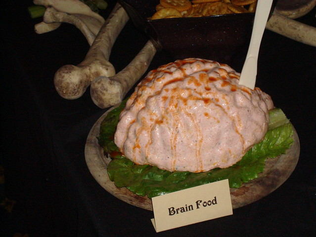 Halloween Food - Brain Dip | Flickr - Photo Sharing!