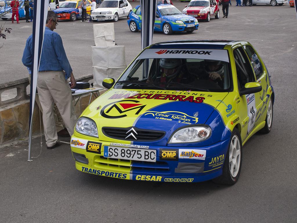 Saxo Vts Rally De Cantabria Ruben Fernandez Flickr
