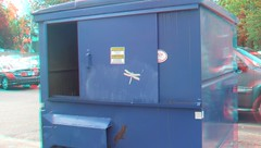 3D Dragonfly Garbage Can