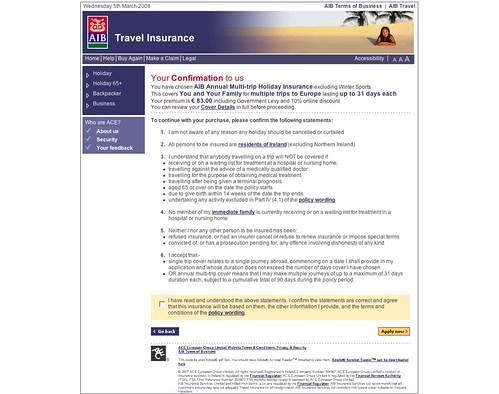 Aib Travel Insurance