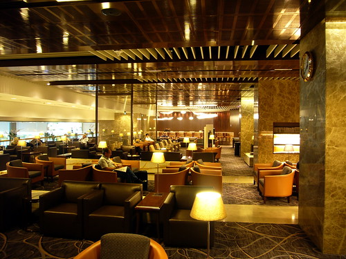 Singapore Airlines Business Class Lounge at Terminal 3