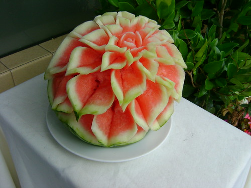 Watermelon Sculpture