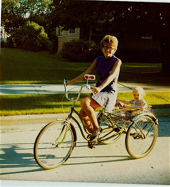 Grandmother Wittwer and Trike