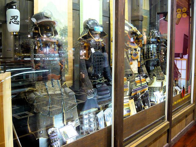 Samurai armor shop