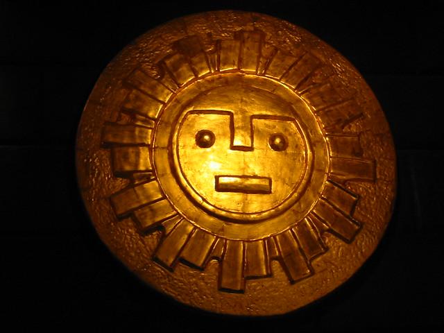 Inka sun god