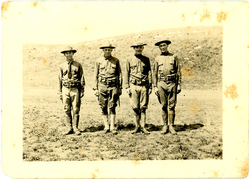 Four soldiers ww1