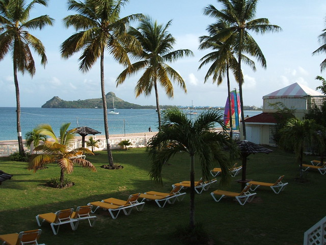 View of Rodney Bay (St Lucia)