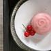 mizu-manju with strawberry/cassis mousse by Miki Nagata (bananagranola)