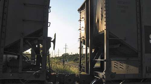 Coal hoppers in transit at Hawthorne Junction. Chicago / Cicero Illinois. September 2008. by Eddie from Chicago