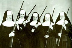 nun, woman, female, person,