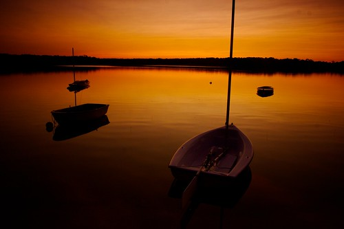 sunset boats colorful capecod cape cod greatpond vosplusbellesphotos