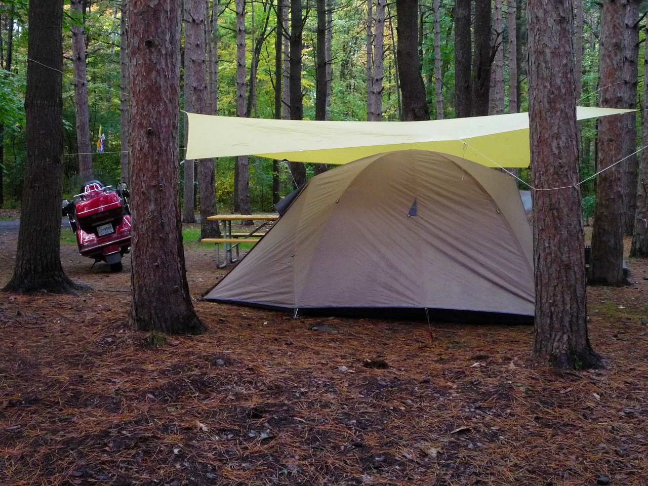 Tent In A Can : Tents you can stand up in