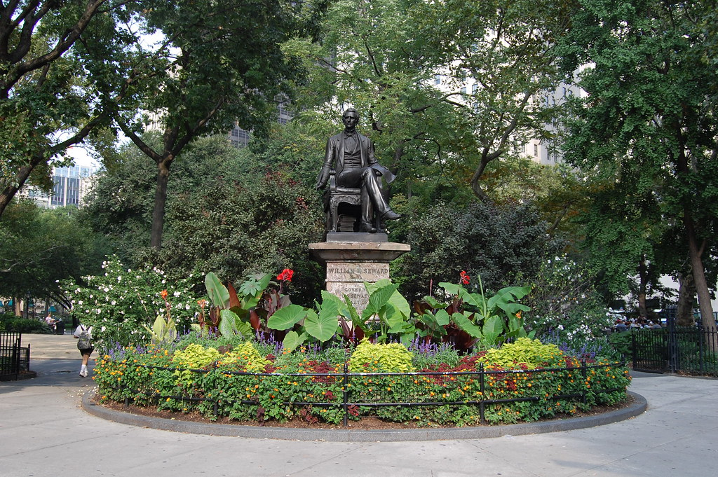 Madison Square Park: William H. Seward