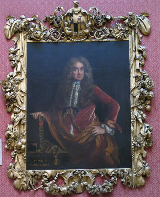 Elias Ashmole by John Riley