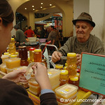Lehel Market, Honey Samples - Budapest, Hungary
