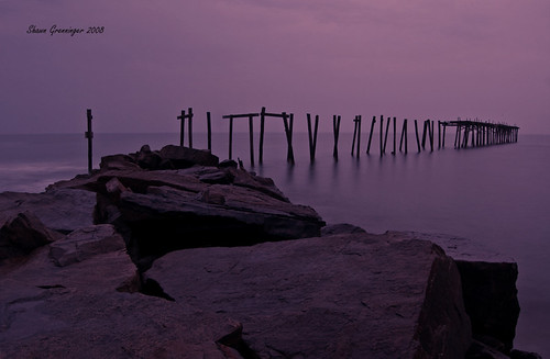 ocean old longexposure morning sky usa beach broken rock d50 dawn pier newjersey nikon ruins rocks nj atlantic oceancity ocnj brokenpier aplusphoto old59thstreetpier
