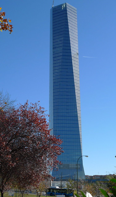 Torre de Cristal - Madrid, Spain | Flickr - Photo Sharing!