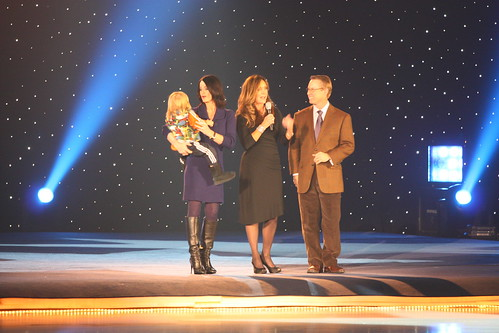 Nadia Comaneci, Peggy Fleming, and Bart Conner