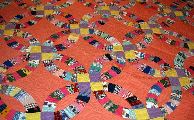 Double Wedding Ring Quilts a gallery on Flickr