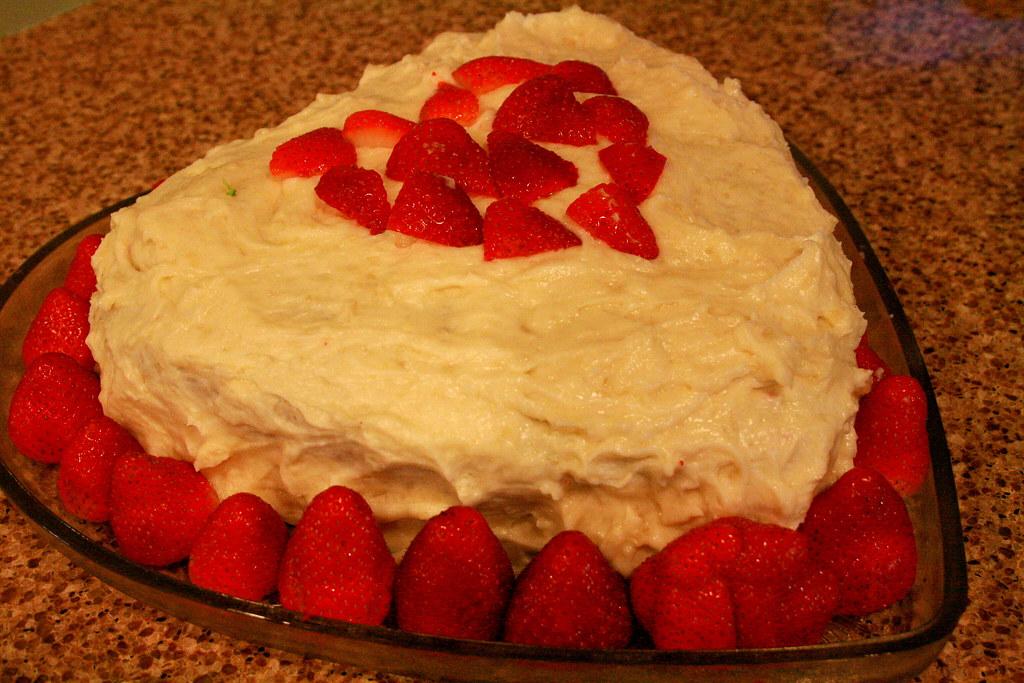 Red Velvet Valentines Day Cake