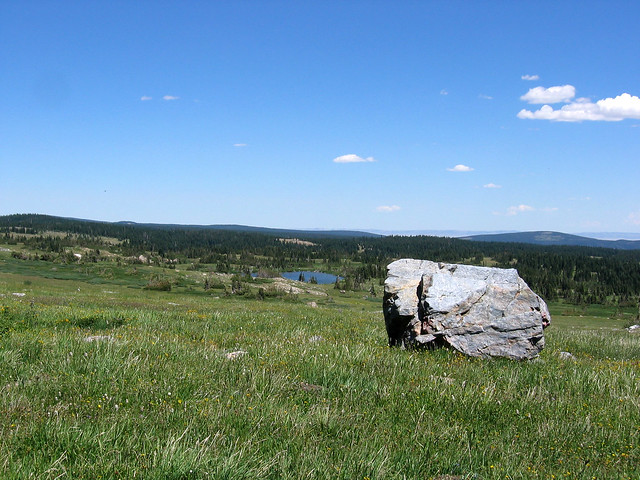 Alpine view, Medicine Bow National Forest