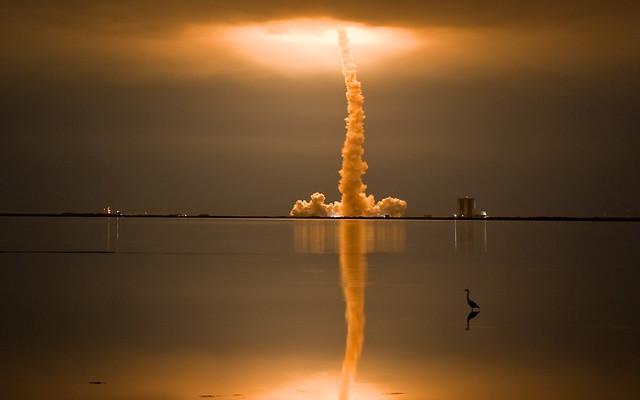 shuttle launch of endeavour - titusville, fl | Flickr ...