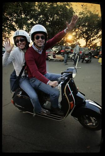 Sbrokerz scooter club by Adriano.