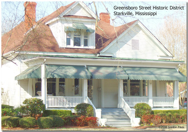 Greensboro Street Historic District, Starkville, MS
