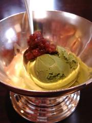紅豆抹茶冰淇淋