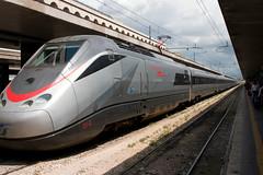 Eurostar train at Stazione Termini