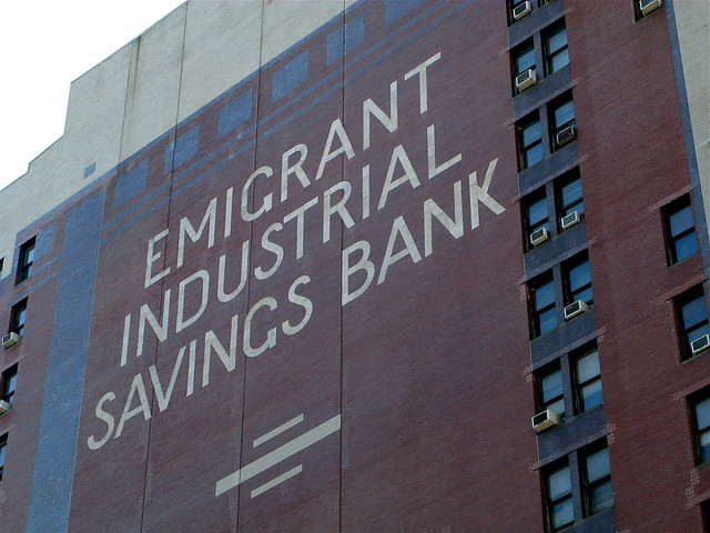Emigrant industrial savings bank flickr photo sharing for Bank ballroom with beautiful mural nyc